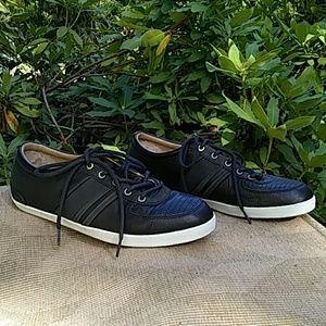 UGG dark gray almost black shoes